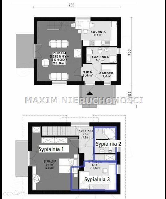 Dom na sprzedaż, Szumlin, płoński, mazowieckie - Foto 16