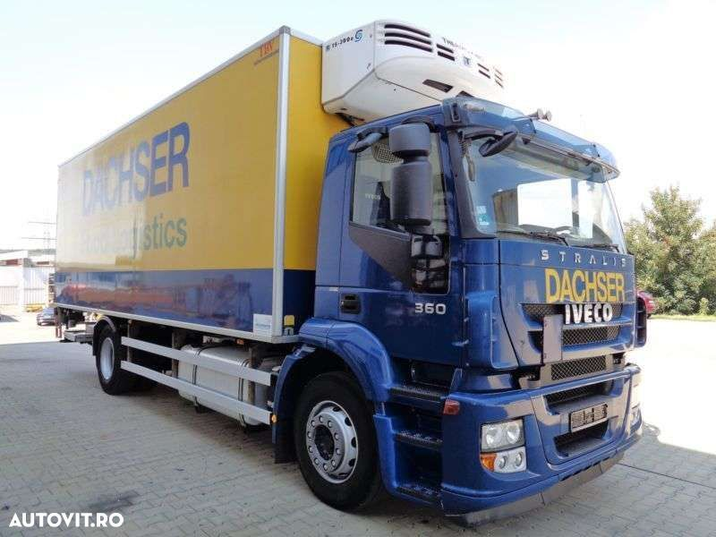 Iveco Stralis AD190S36 Tiefkühler LBW ThermoKing - 2
