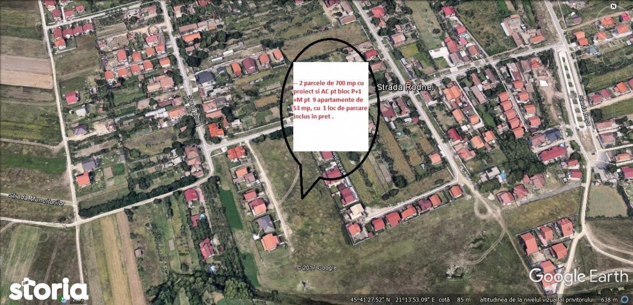Teren de Vanzare, Timiș (judet), Giroc - Foto 1