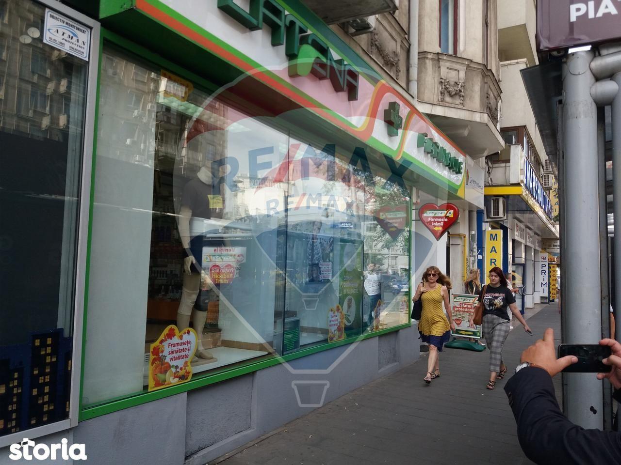 Spatiu Comercial de inchiriat, București (judet), Strada Biserica Amzei - Foto 12