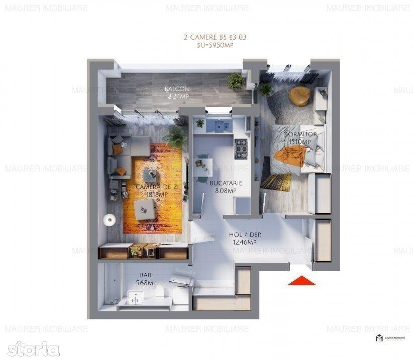 Apartament de vanzare, Constanta, Tomis Plus - Foto 1