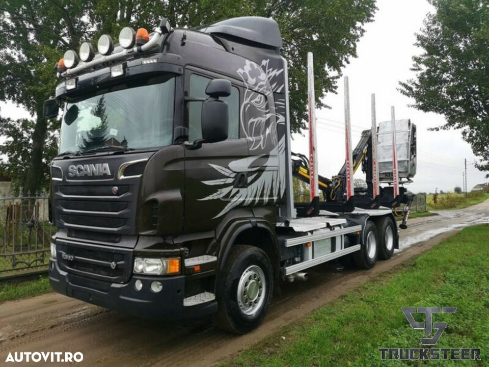 Scania R560 V8 Retarder Arc/Arc Manual 560PS 01/2013 - 1