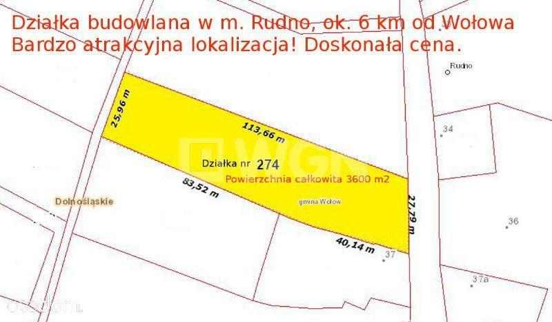 Działka na sprzedaż, Rudno, wołowski, dolnośląskie - Foto 6