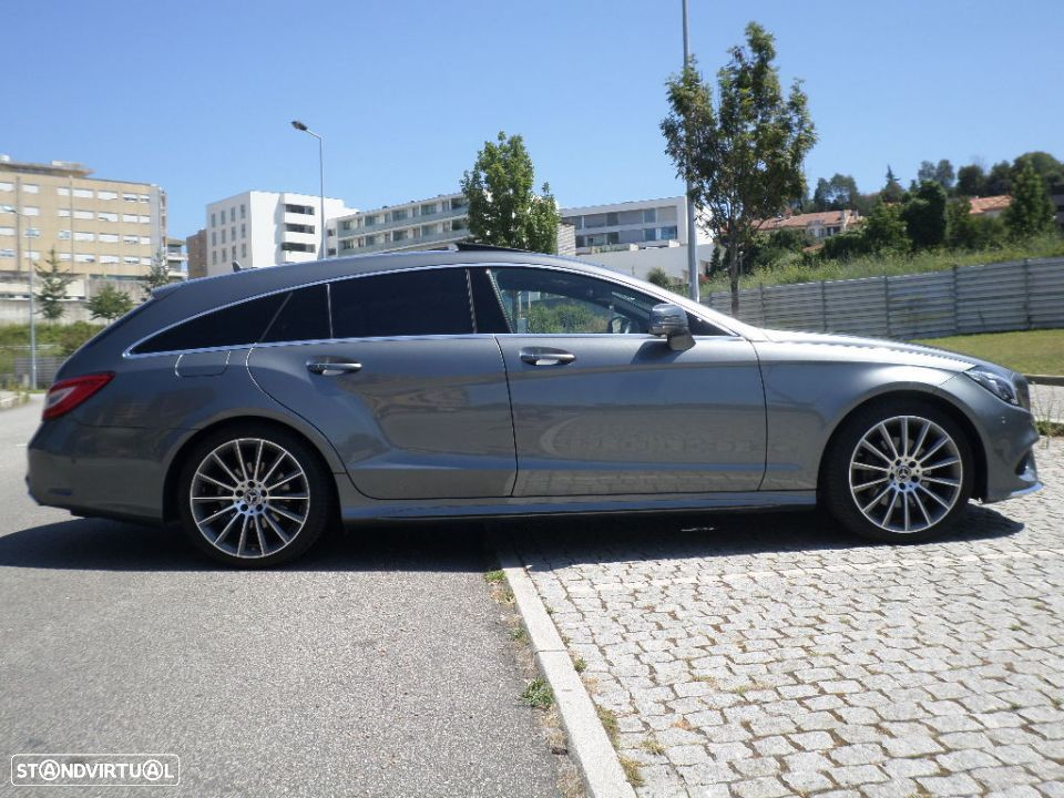 Mercedes-Benz CLS 220 d Shooting Brake AMG 9GTronic - 4