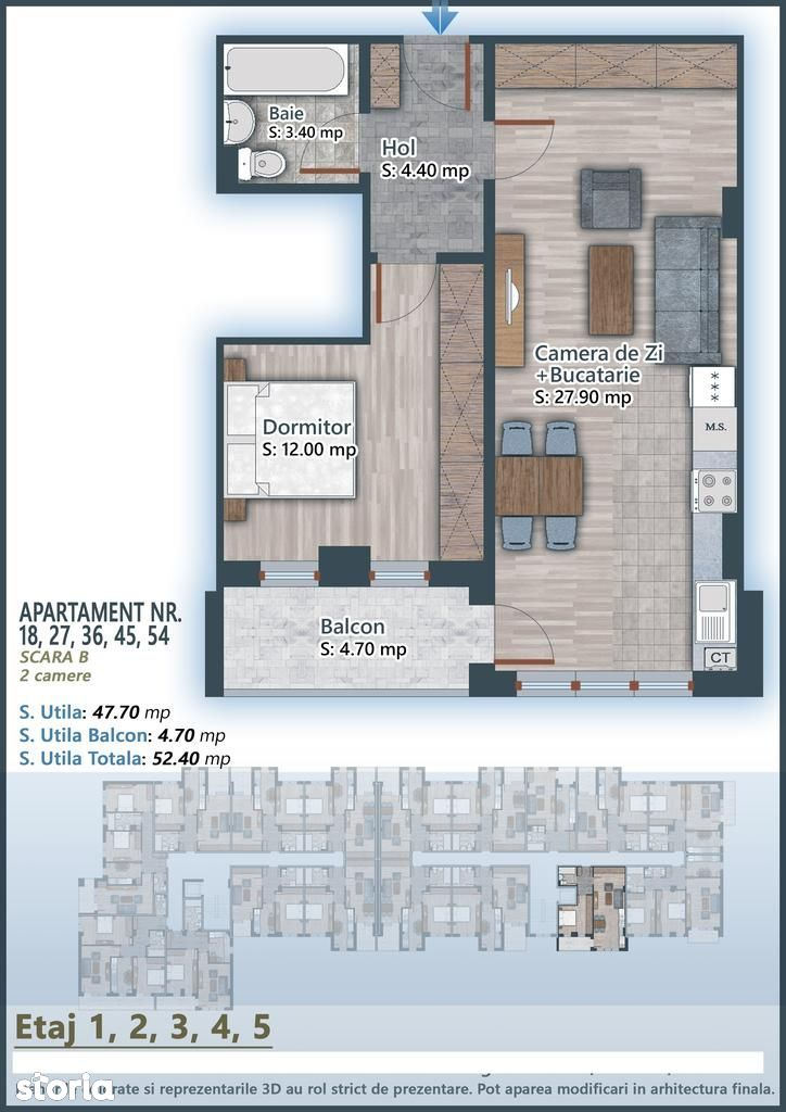 Apartament de vanzare, București (judet), Drumul Gura Siriului - Foto 4