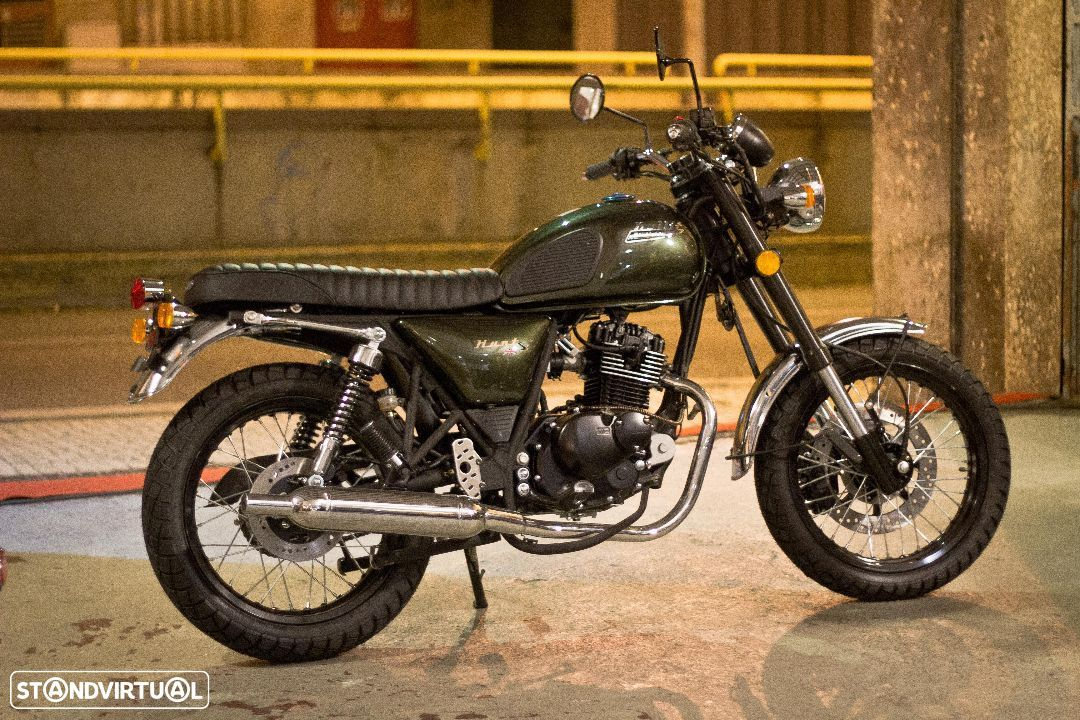 Bullit Hunt S 125 Custom by Ton-up Garage - 8