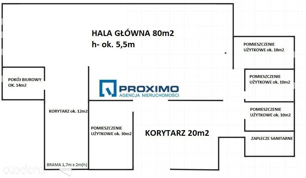 Hala/Magazyn na wynajem, Kraków, Rybitwy - Foto 2