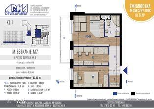 3 - pokojowe mieszkanie M7