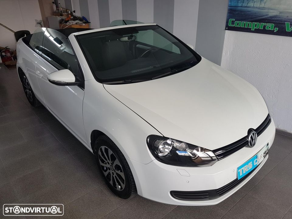 VW Golf Cabriolet 1.6 TDI Bluemotion - 8