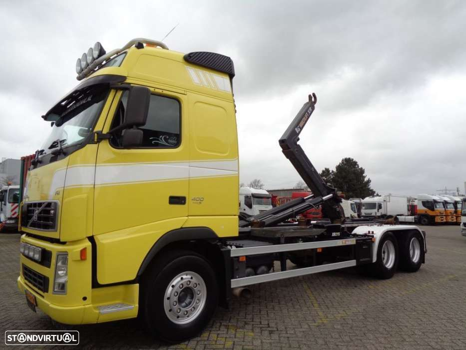 Volvo FH 400 + Euro 5 + 10 tyres + Hook system - 1