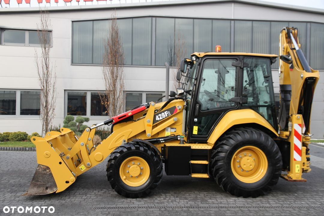 Caterpillar KOPARKO-ŁADOWARKA CAT 428F2 TURBO POWERSHIFT - 5