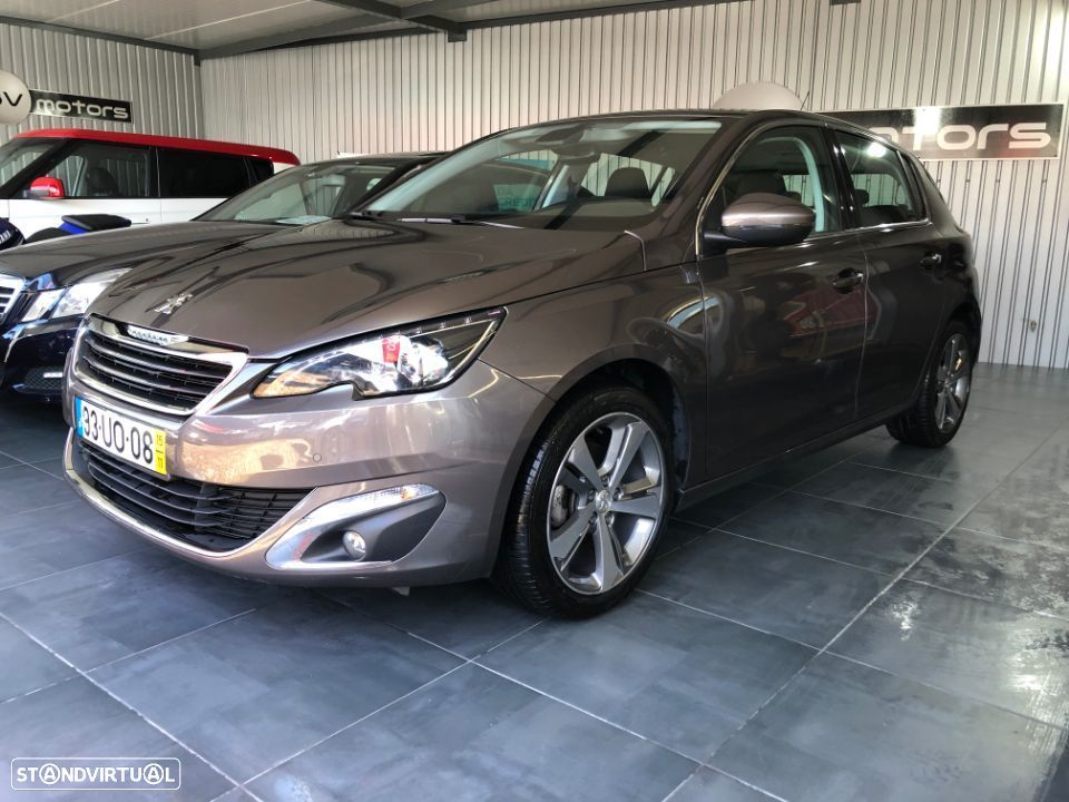 Peugeot 308 1.6 bluehdi allure j17 eat6 - 7