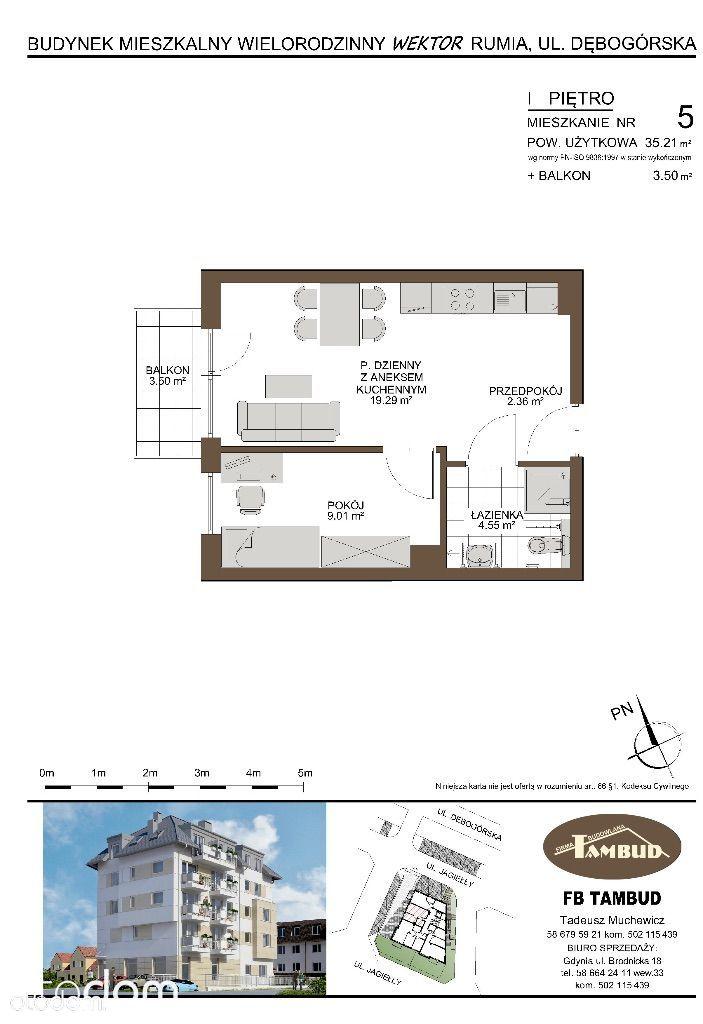 Mieszkanie na sprzedaż, Rumia, wejherowski, pomorskie - Foto 1013