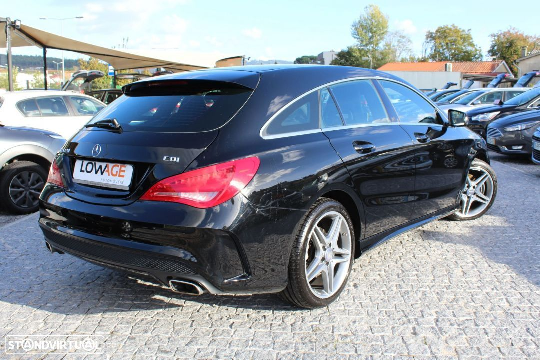Mercedes-Benz CLA 220 CDI Shooting Break AMG Auto - 28