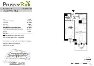 Pruszcz Park, budynek A, mieszkanie 4.B.6