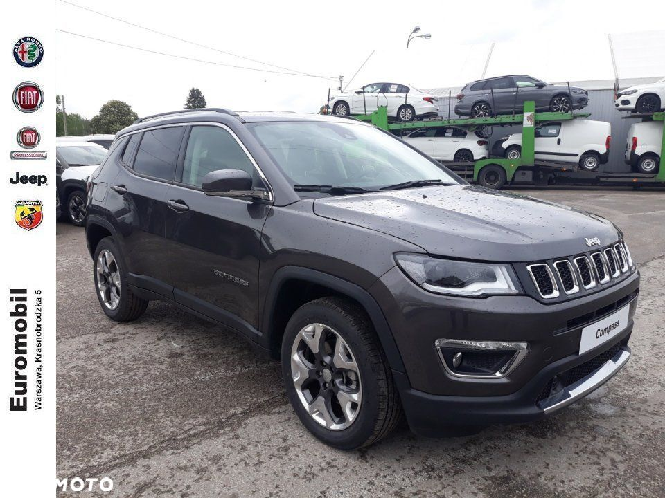 Jeep Compass Limited 1.4 170 km at9 4x4, 2019r. - 1