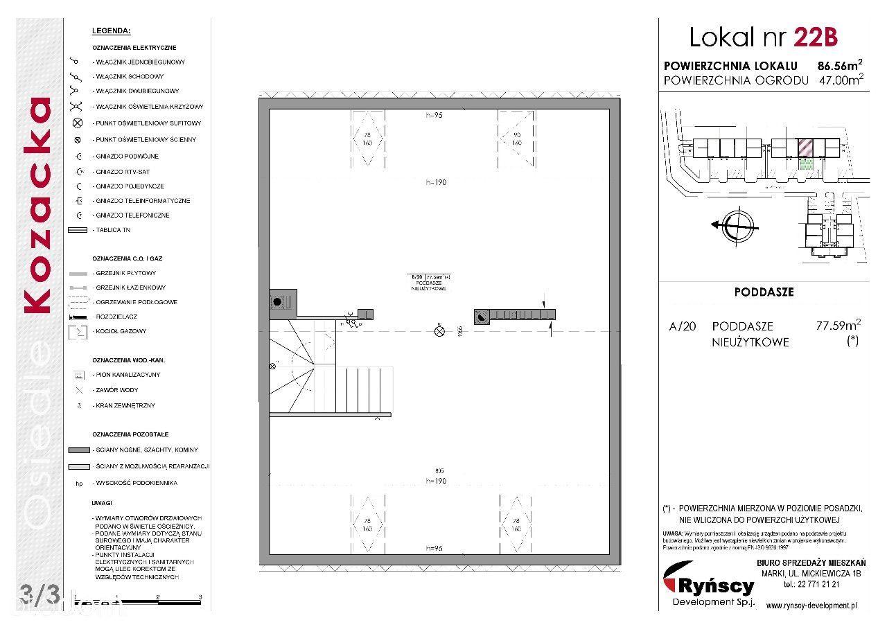 Mieszkanie na sprzedaż, Marki, wołomiński, mazowieckie - Foto 7