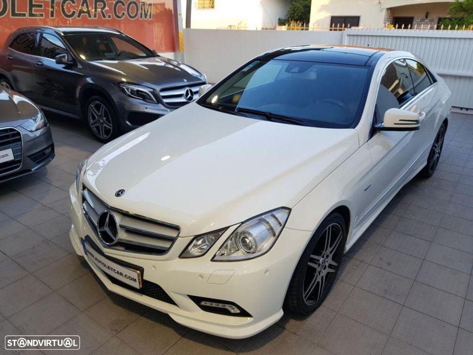 Mercedes-Benz E 250 CDI COUPE AMG EDITION - 2