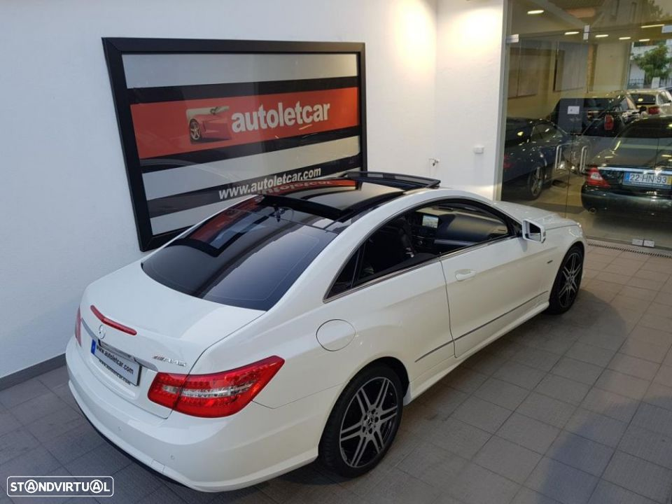 Mercedes-Benz E 250 CDI COUPE AMG EDITION - 36