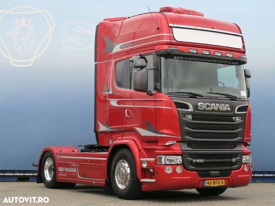 Scania R580 4x2MNB V8 Red Passion - 2