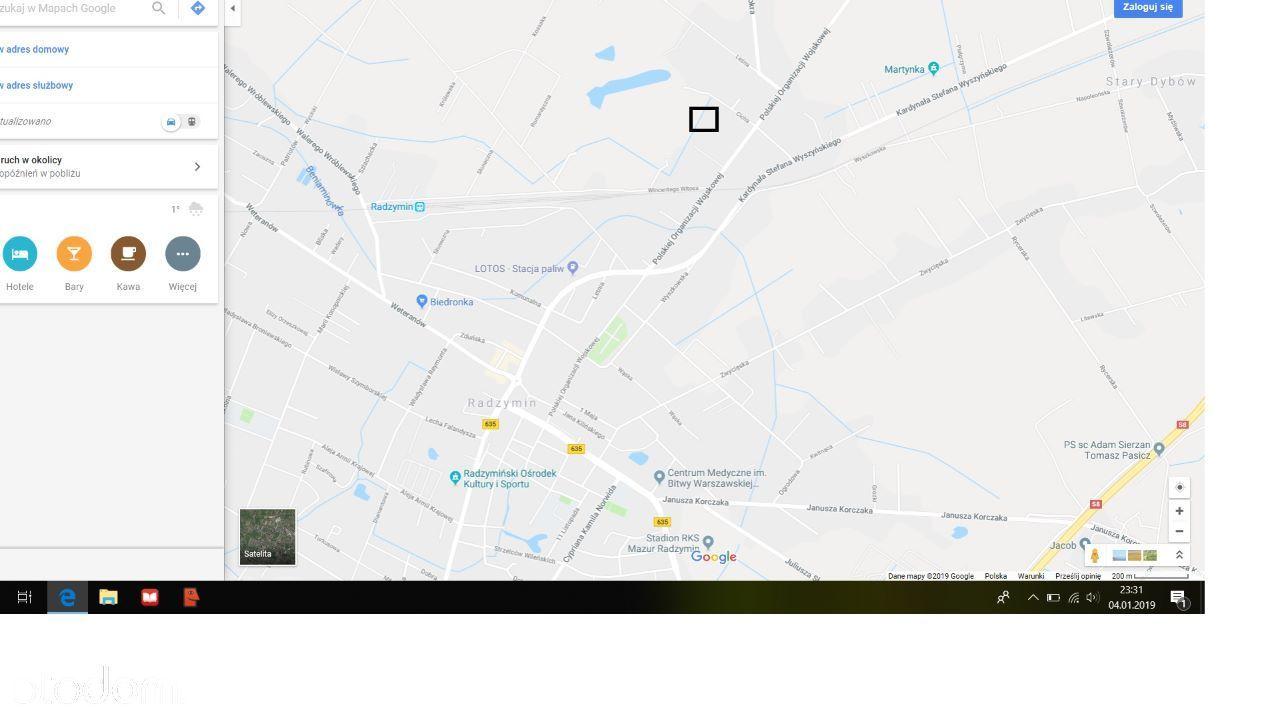 Działka na sprzedaż, Radzymin, wołomiński, mazowieckie - Foto 1