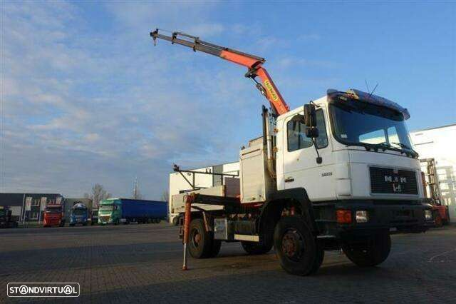 MAN 13.232 4x4 Ual Full Steel Hubreduction Palfin - 1