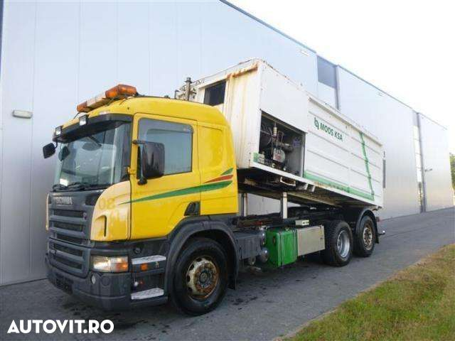 Scania P420 6X2 MANUAL SIMON MOOS STEERING AXLE EURO 3 - 1