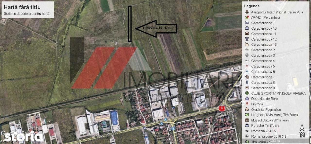 Teren de Vanzare, Timiș (judet), Strada Lacului - Foto 1