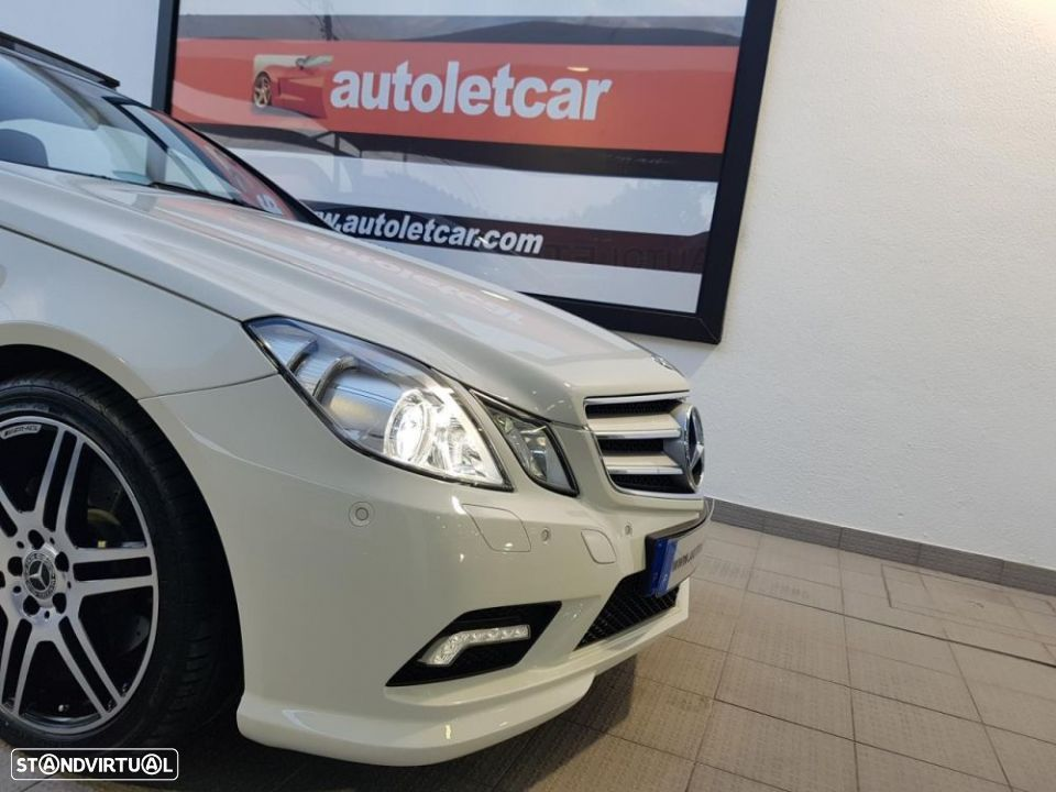 Mercedes-Benz E 250 CDI COUPE AMG EDITION - 37