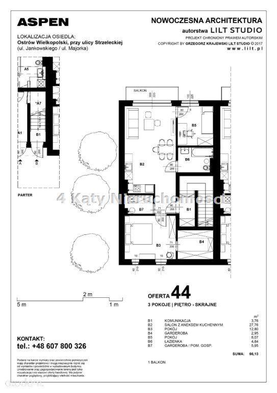 Mieszkanie na sprzedaż, Ostrów Wielkopolski, ostrowski, wielkopolskie - Foto 7