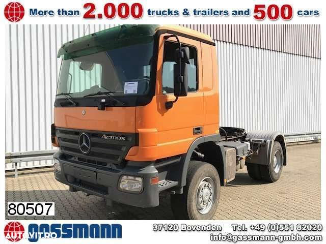 Mercedes-Benz Actros 2041 AS 4x4, Hydraulik - 1