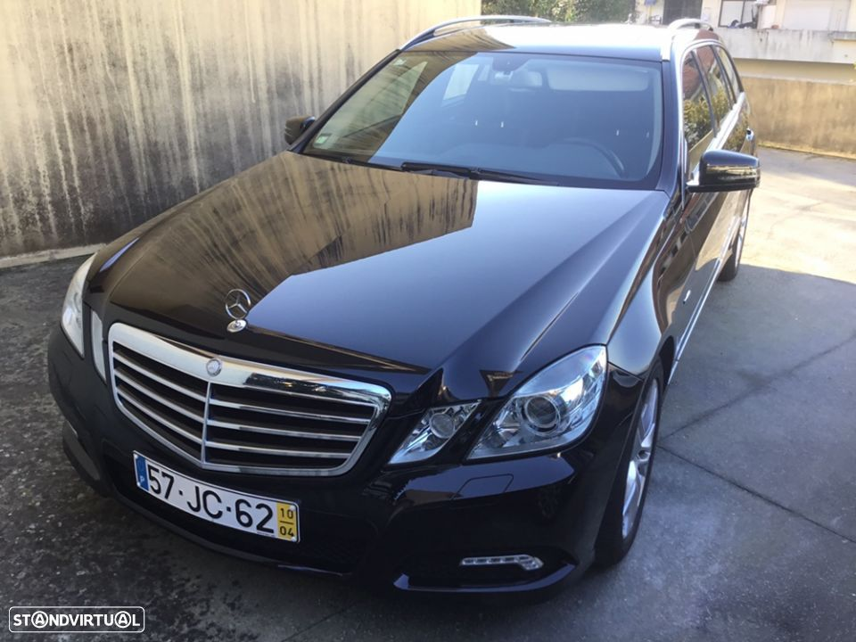 Mercedes-Benz E 250 avangard -blue-effeciency - 1