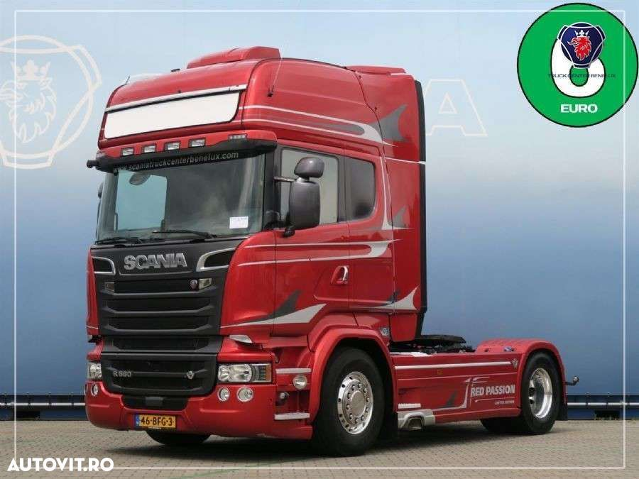 Scania R580 4x2MNB V8 Red Passion - 1