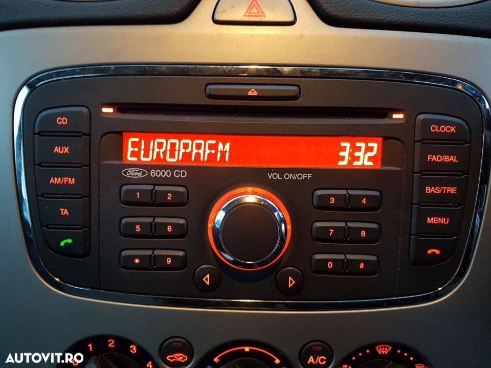 CD Player Radio 6000CD Ford Focus 2 Facelift 2007 - 2011 - 1