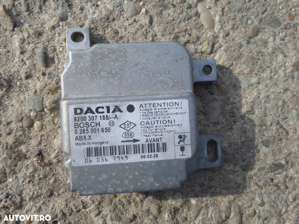 calculator airbag dacia logan - 2