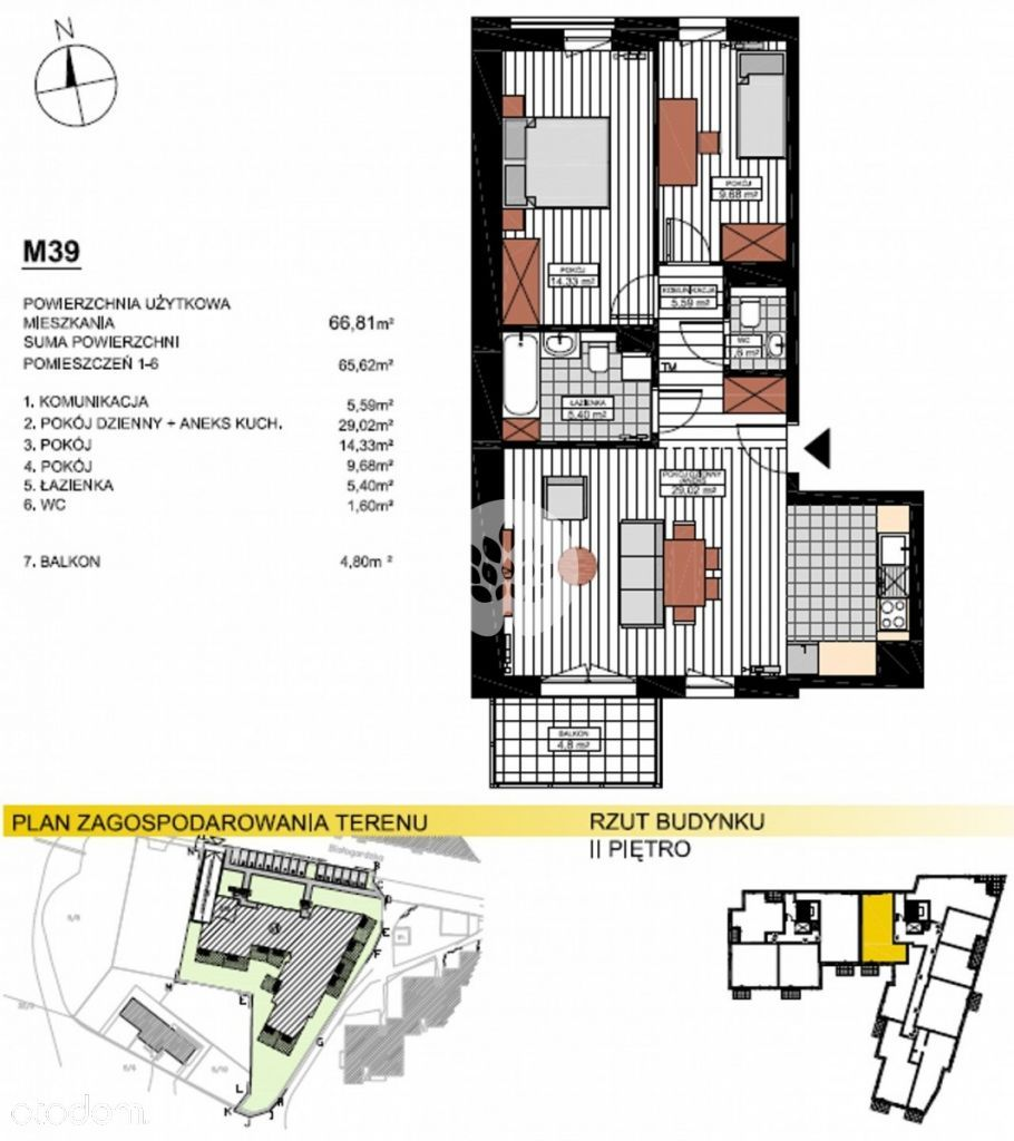 Mieszkanie na sprzedaż, Bydgoszcz, Kapuściska - Foto 6