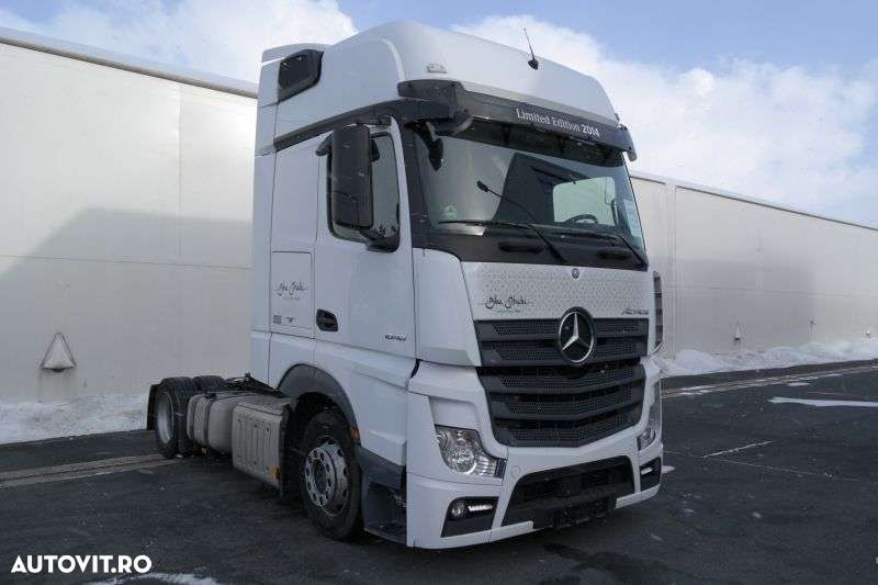 Mercedes-Benz Actros 1848 Lsnrl Euro 6 Low Deck - 2