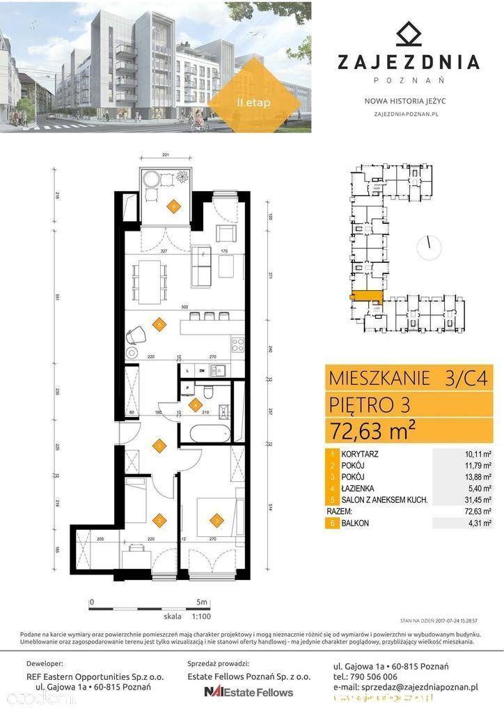 Mieszkanie na sprzedaż, Poznań, wielkopolskie - Foto 4