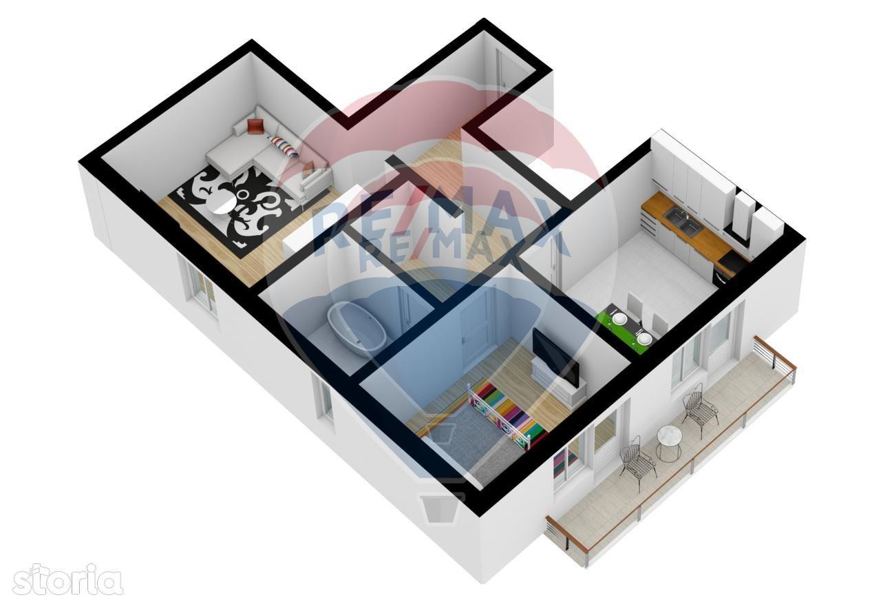 Apartament de vanzare, Sibiu (judet), Primăverii - Foto 2