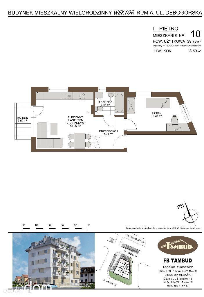 Mieszkanie na sprzedaż, Rumia, wejherowski, pomorskie - Foto 1018