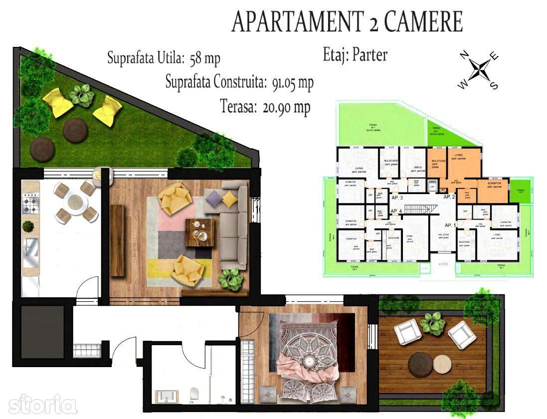 Apartament de vanzare, Brasov, Racadau - Foto 3