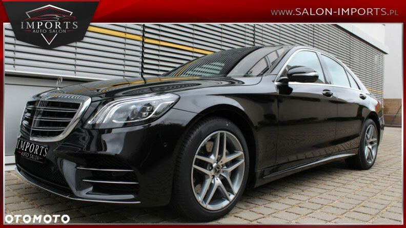 Mercedes-Benz Klasa S S 350d 286km Lang AMG Line airMATIC Ambient Panorama 9G tronic led - 14