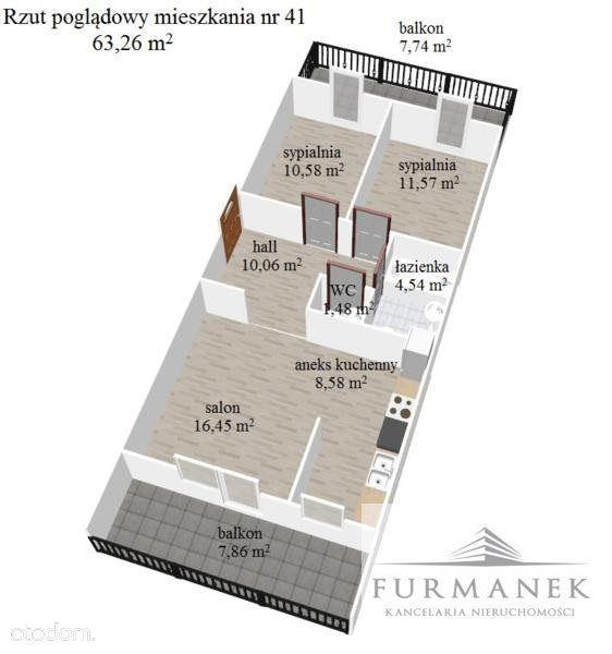 Mieszkanie na sprzedaż, Biłgoraj, biłgorajski, lubelskie - Foto 5