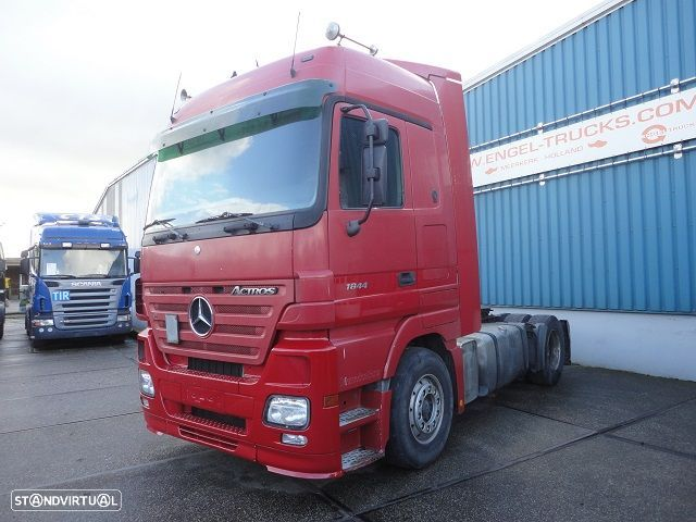 Mercedes Benz ACTROS 1844LS MEGASPACE (EPS WITH CLUTCH / RETARDER / AIRCONDITIONING / STEEL-/AIR SUSPENSION) - 1