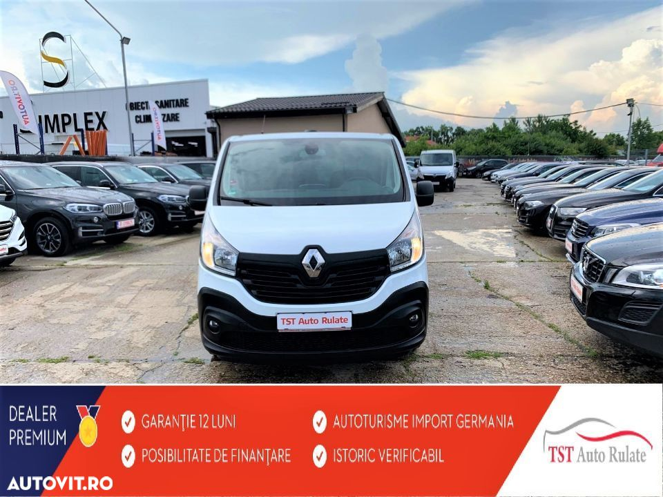 Renault TRAFIC 89000KM-IMPORT GERMANIA - 9