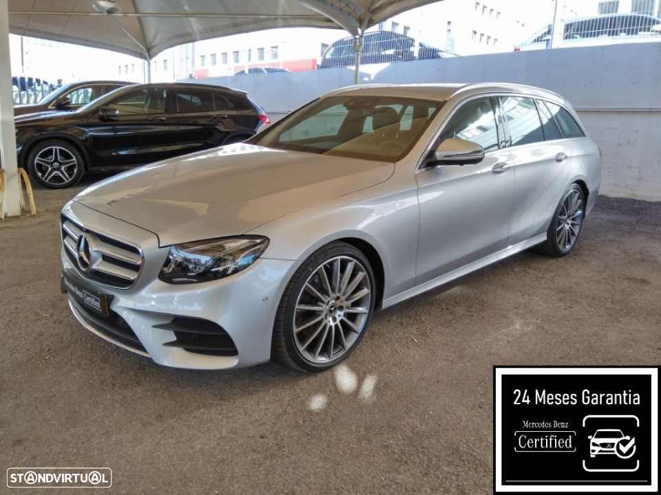 Mercedes-Benz E 220 d  Station AMG - 1