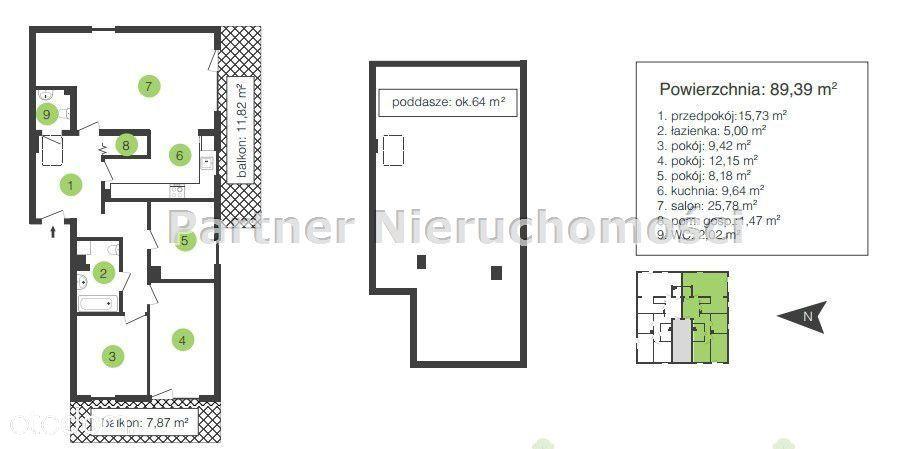 Mieszkanie na sprzedaż, Biedrusko, poznański, wielkopolskie - Foto 4
