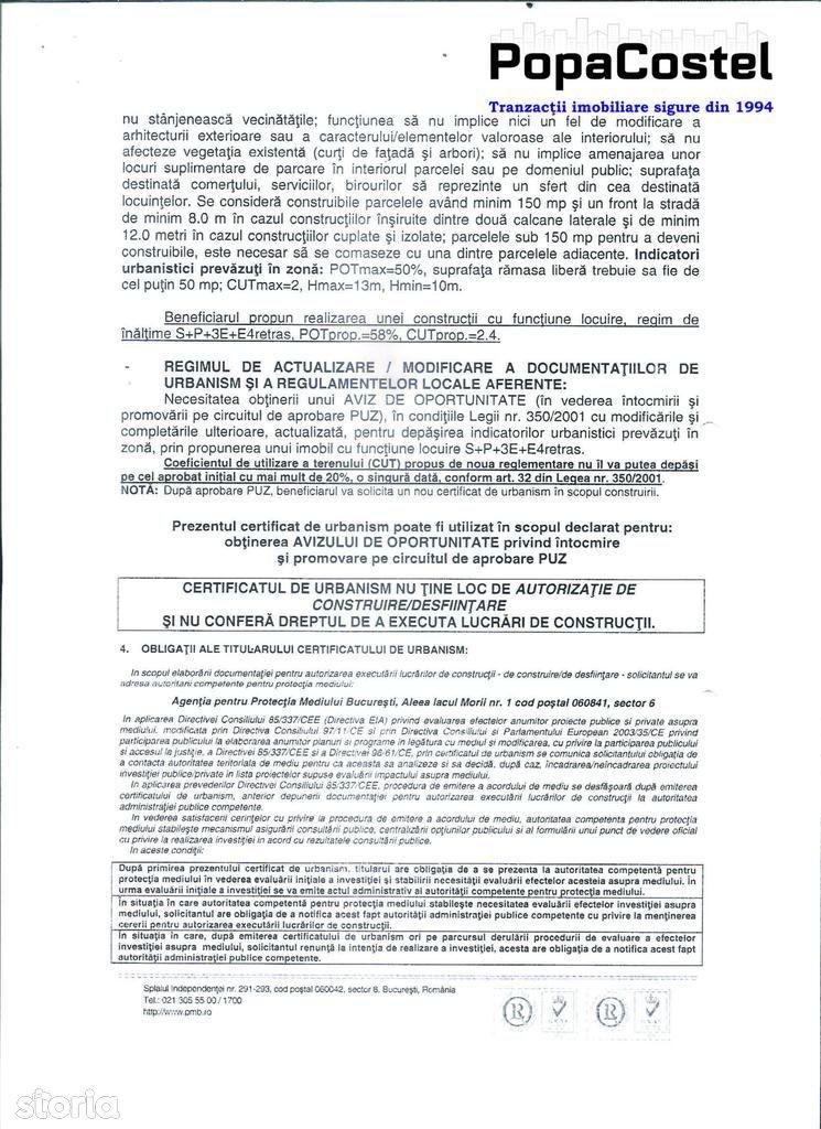 Teren de Vanzare, București (judet), Calea Dorobanților - Foto 3