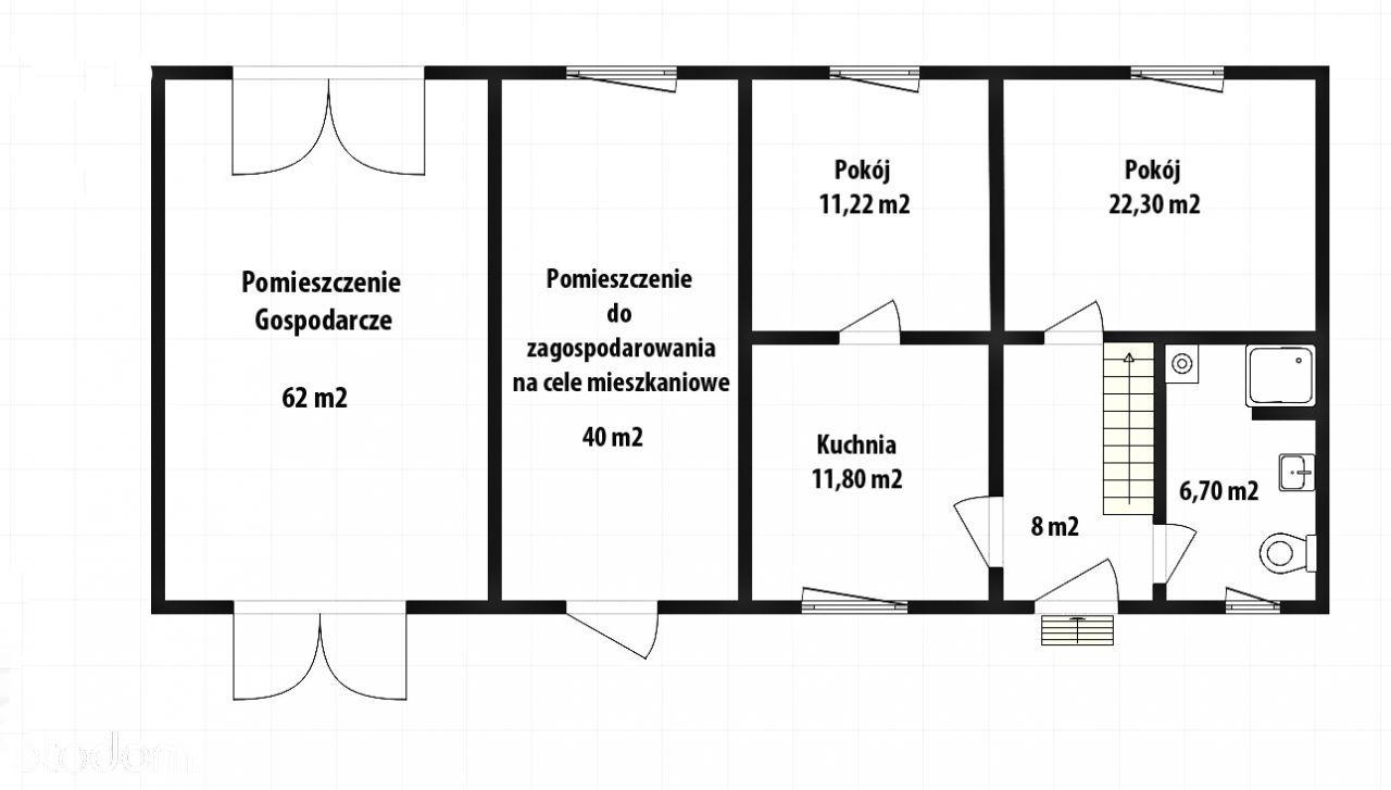 Dom na sprzedaż, Kuroch, ostrowski, wielkopolskie - Foto 14