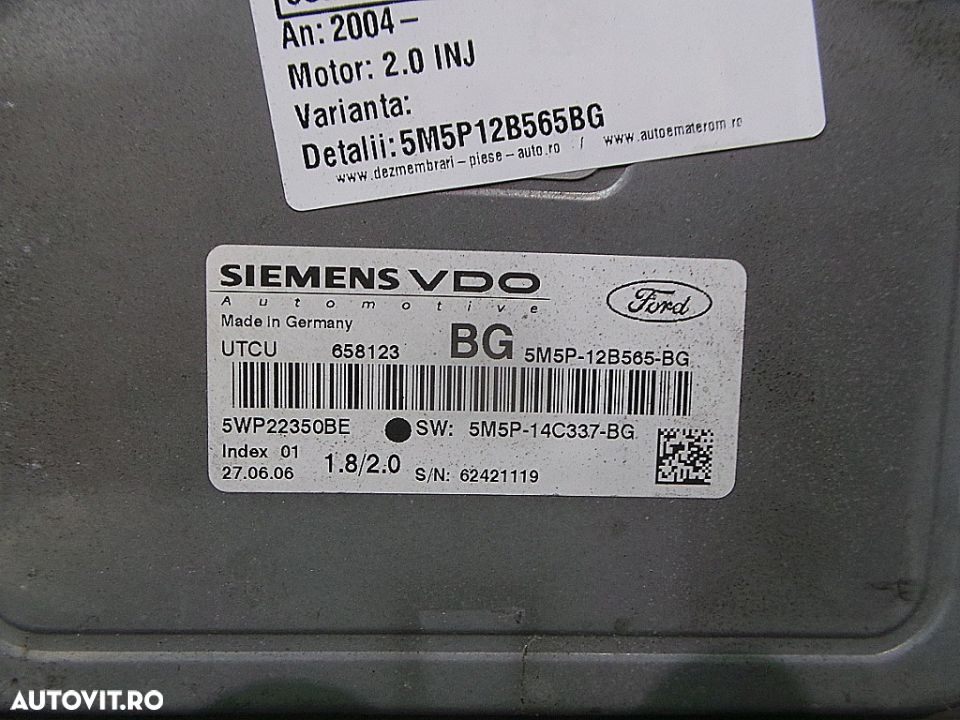 Computer Bord, Ford Focus - 2